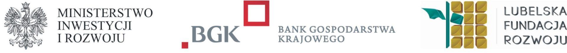 Trójznak z logo BGK